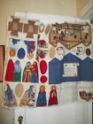 NATIVITY SCENE FROM CRANSTON PRINT WORKS MOSTLY CUT SEW AND STUFF
