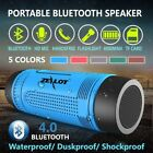 Outdoor Waterproof Bluetooth Speaker With Flashlight SD Card Slot and FM Radio