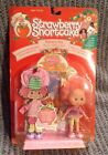 Vintage 1991 Strawberry Shortcake Raspberry Tart Rock N' Berry Roll Doll NOS THQ