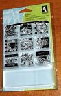 ACRYLIC INKADINKADO STAMPS IN THE KITCHEN INCHIES stamps  1 x 375 block