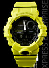 NEW WITH TAGS Casio Gshock G-SQUAD Step Tracker Bluetooth GBA800-9A YELLOW Watch