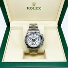 Rolex Daytona Stainless Steel 40MM Watch Ref # 116520 D Serial All Original