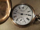 New York Standard Pocket Watch, 6s 7j, Gold Filled Hunting, Repair