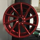 20 SWIRL STYLE CANDY RED WHEELS RIMS LEXUS GS GS300 GS350 GS400 GS430 AWD