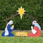 Outdoor Nativity Store Holy Family Nativity Set Large Color Christmas Decoration