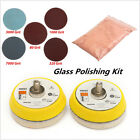 34pcs Car Window Scratch Remover Glass Polishing Cerium Oxide Wheel Pad Tool Kit