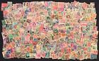 Lot of Over 525 Used Cancelled Foreign Stamps Weight Approximately 22 Grams