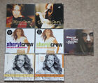 Sheryl Crow 7x CD Single Bundle 1997-1999 incl. Tomorrow Never Dies
