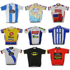 New Cycling Jersey Unisex Retro Road Pro Clothing MTB Short Sleeve Bike Racing