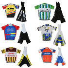 Retro Cycling Jersey Vintage Bib Short Cycling Kit