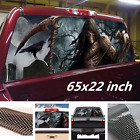 65x22 inch Girm Reaper Cemetery Rear Window Graphic Decal Sticker For Jeep Ford