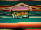 ANTIQUE CHINESE SENIC CLOISONNE AND PEKING GLASS BOX