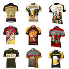 Beer Unisex Cycling Jersey Retro Vintage Short Sleeve Racing Bike