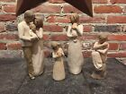 Lot of 4 Willow Tree Figurines Guardian Our Gift Angel and Angel of Mine