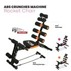 Home Workout Equipment Gym Exercise Abs Chair 6 Way Trainer Crunches Machine New