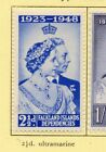Falkland Islands 1948 Silver Wedding Early Issue Fine Mint Hinged 25d 294984
