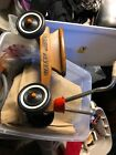 Vintage RADIO FLYER Wooden Toddler Scooter 4 Wheel Trike Sit and Scoot