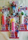 PEZ Candy Dispenser Candy : Yoshi Donkey Kong Peach and a Mario Kart  dispenser.
