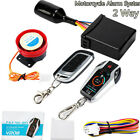 PKE 2 Two Way Digital Motorcycle Alarm System Engine Start Stop Remote Locating