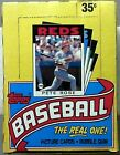 1986 Topps Baseball Wax Box 36ct 15 Cards A Pack