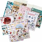 45 Pcs lot Japanese Traveller Kawaii Label Stickers DIY Scrapbooking Stationery