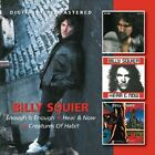 BILLY SQUIER - ENOUGH IS ENOUGH/HEAR & NOW/CREATURES OF HABIT 2 CD NEW+