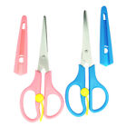 2Pcs DIY Steel Sewing Scissors Set Pinking Shears For Dressmaking Art Crafts