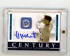 2018 Panini National Treasures 1 1 Button George Brett Auto Autograph Royals