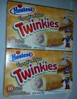 NEW HOSTESS LIMITED EDITION PUMPKIN SPICE TWINKIES HALLOWEEN Two Boxes 20 Twinks