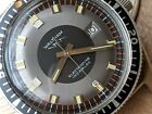 Vintage Waltham Electrodyne Divers Watch w/Pristine Dial,Warm Patina,All SS Case
