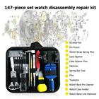 147pcs/set Pro Watch Case Opener Link Remover Screwdriver Repair Tools Kits Bag