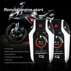 PKE 2 Way Motorcycle Alarm Security System Remote Engine Start For Honda YAMAHA