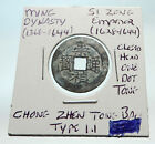 1628AD CHINESE Ming Dynasty Genuine Antique SI ZONG Cash Coin of CHINA i74436