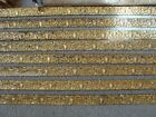 Antique Victorian Picture Rail Molding Gilt Wood Lot of 42 feet New / Old Stock