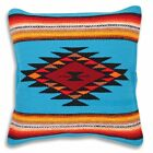 Serape Throw Pillow Covers 18 X 18 Hand Woven in Southwest and Native American