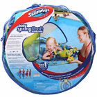 SwimWays Baby Spring Float Activity Center Pool Toy 9 24 Month Canopy Step 1 NEW