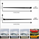 2pcs Stripes Left Right Side Car Truck Stickers Vinyl Decal Graphics Waterproof