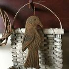 New Handmade Scented Primitive Hanging Raven/Crow Ornie