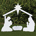 Outdoor Nativity Store Holy Family Outdoor Nativity Set Life Size White