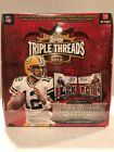 2012 Topps TRIPLE THREADS Sealed Football Hobby Box Luck, Wilson,RG 3,Tannehill