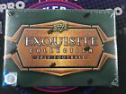 2013 UD Exquisite Football Factory Sealed Hobby Box