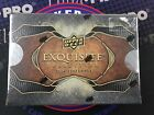 2014 UD Exquisite Football Factory Sealed Hobby Box