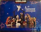 Kirklands Signature 13 Piece Hand Painted Porcelain Nativity with Creche