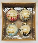 NEW Set of 4 His Advent Names Adorenaments Christmas Ornaments JESUS