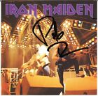 IRON MAIDEN Wasted Tapes PAUL DI'ANNO Killers Wrathchild Singer Autograph SIGNED