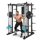 Power rack Smith Machine Cable Cross training Fitness Home Gym Barbell Chin up