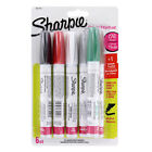 Sharpie Oil Based Paint Markers Medium Assorted Colors with Metallics Set of 6