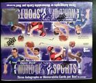 2011 Upper Deck World of Sports Hobby Box 3 Autographs OR Memorabilia