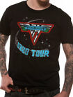 Van Halen 1980 Tour Official Mens Black T Shirt