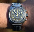 Vintage JUNGHANS Olympic Chronograph, Valjoux 7734, Steel 37mm, 70's men's watch